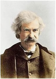 Mark Twain, 1895, door Napoleon Sarony
